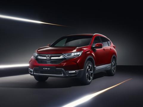 Honda CR-V 2018 hybrid hoan toan moi ra mat hinh anh