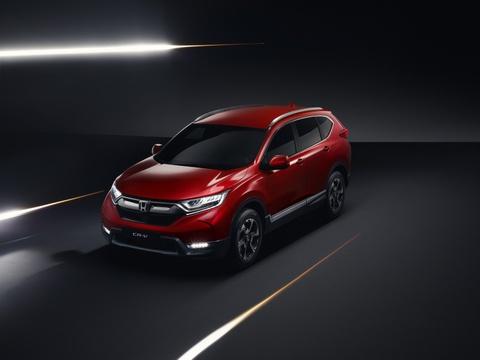Honda CR-V 2018 them ban hybrid hinh anh