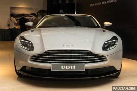 Aston Martin DB11 V8 ra mat Dong Nam A, gia 465.000 USD hinh anh