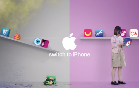 Apple tiep tuc che gieu Android, khuyen nguoi dung mua iPhone hinh anh