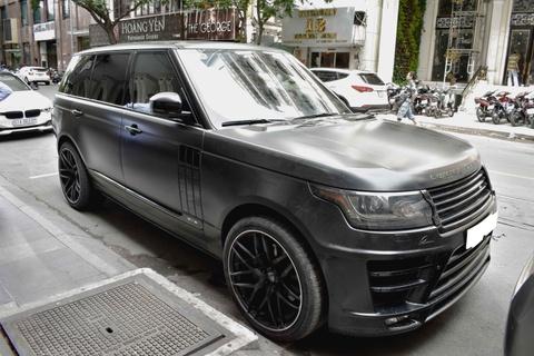Range Rover LWB do ham ho tren pho Sai Gon hinh anh