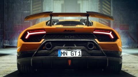 Lamborghini Huracan Performante du dan hon qua ban tay Novitec hinh anh 5