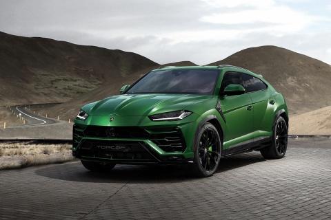 Lamborghini Urus phien ban quan doi cua hang do Nga hinh anh