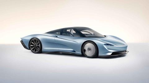 McLaren Speedtail - doi thu dang gom cua Bugatti Chiron hinh anh