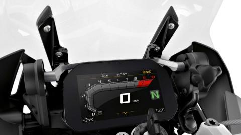 BMW R 1250 GS Adventure ra mat - binh xang 30 lit, giau cong nghe hinh anh 8