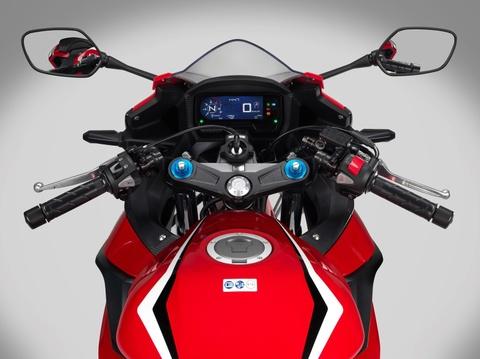 Honda CBR500R 2019 ra mat - thuan chat sportbike hon hinh anh 7