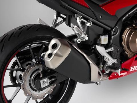 Honda CBR500R 2019 ra mat - thuan chat sportbike hon hinh anh 10