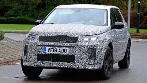 Land Rover Discovery Sport 2019 lo dien o Anh hinh anh