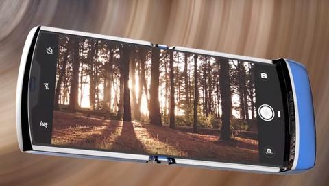 Video concept cuc dep cua Motorola RAZR 2019 hinh anh