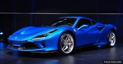 'Sieu ngua' Ferrari F8 Tributo ra mat gioi nha giau Dong Nam A hinh anh 1