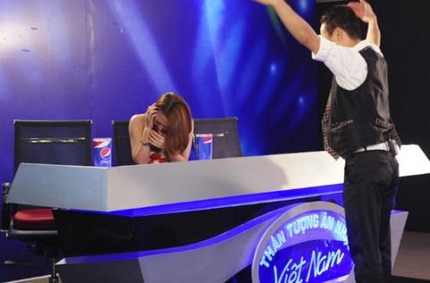 My Tam duoc 'tham hoa' Vietnam Idol to tinh lang man hinh anh