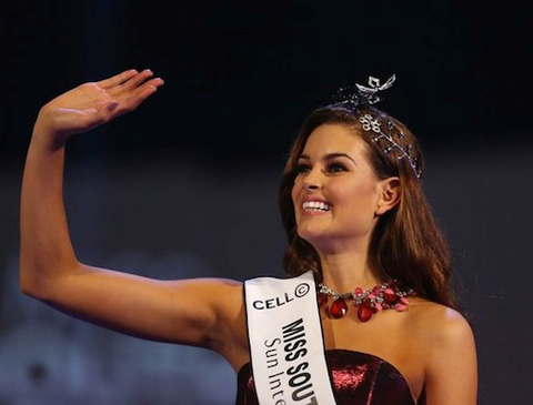 Hoa hau Nam Phi 2014 la ung vien nang ky o Miss Universe hinh anh