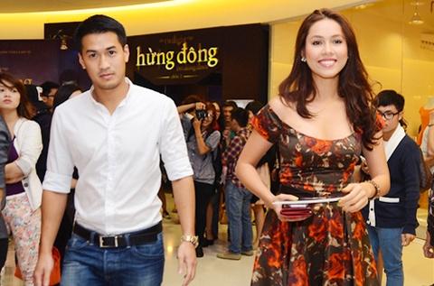 A hau Hoang My: 'Toi va Phillip Nguyen van la ban tot' hinh anh