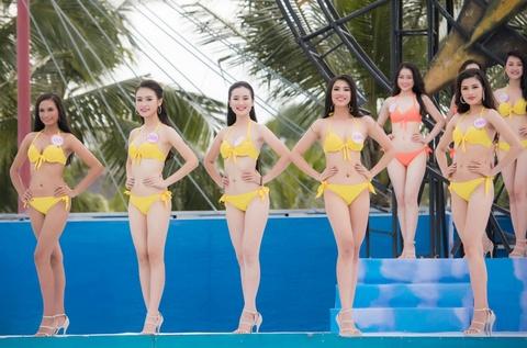 Thi sinh HHVN mac bikini thi Nguoi dep bien hinh anh 1
