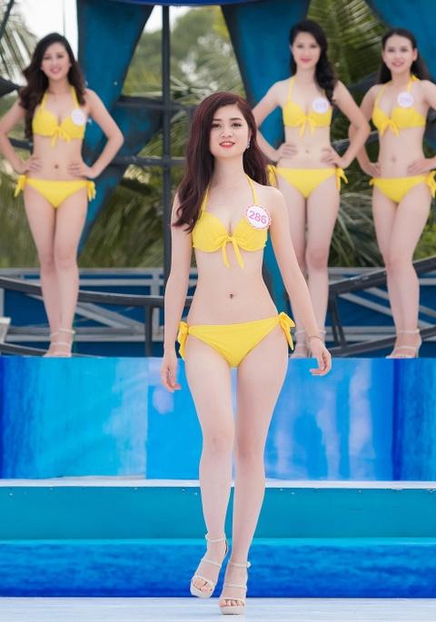 Thi sinh HHVN mac bikini thi Nguoi dep bien hinh anh 10