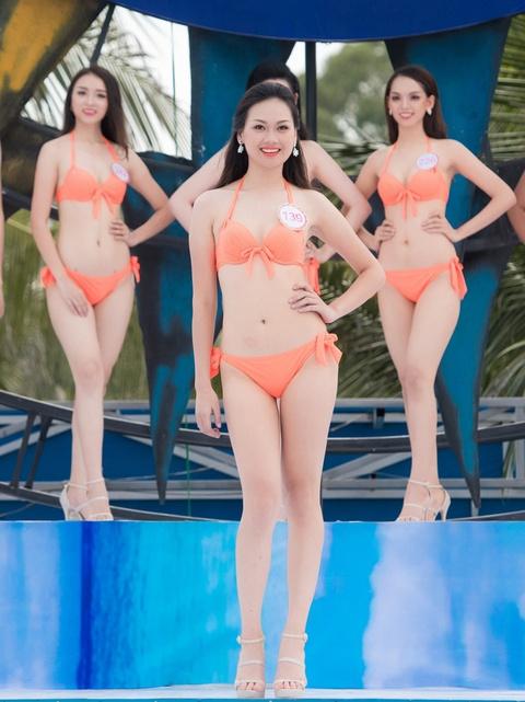 Thi sinh HHVN mac bikini thi Nguoi dep bien hinh anh 11