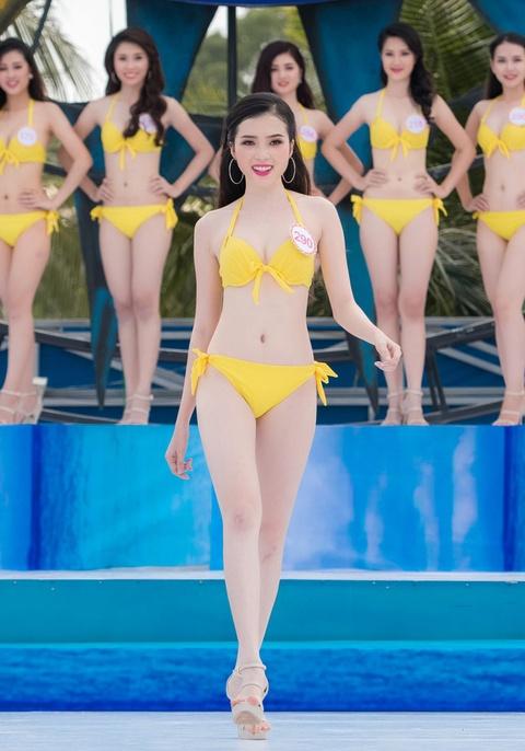 Thi sinh HHVN mac bikini thi Nguoi dep bien hinh anh 12