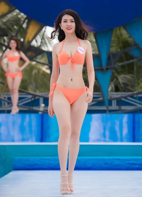 Thi sinh HHVN mac bikini thi Nguoi dep bien hinh anh 7