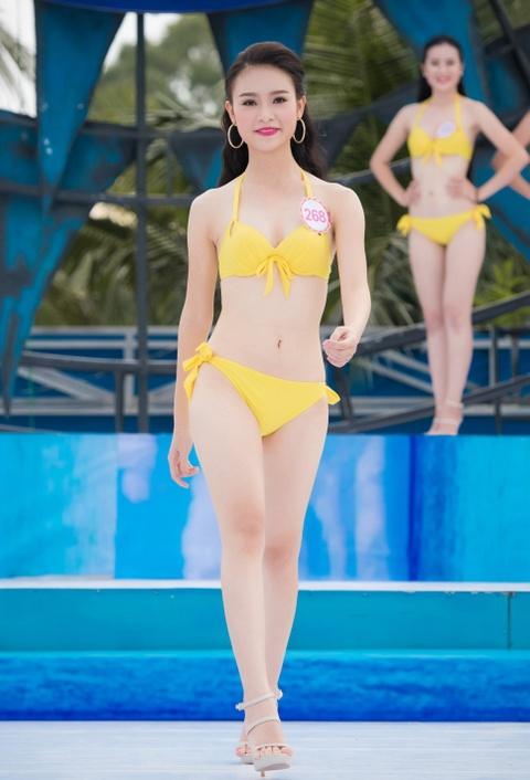 Thi sinh HHVN mac bikini thi Nguoi dep bien hinh anh 9