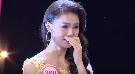 Thi sinh Hoa hau Viet Nam nghen ngao tren song truyen hinh hinh anh