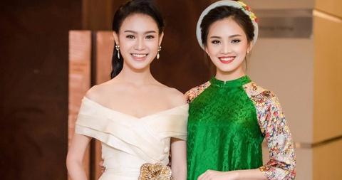 To Nhu, Ngoc Van hoi ngo sau Hoa hau Viet Nam hinh anh