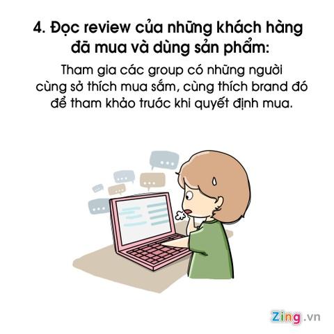 7 dieu nen nho de khong tro thanh tham hoa mua sam online hinh anh 4