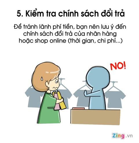 7 dieu nen nho de khong tro thanh tham hoa mua sam online hinh anh 5