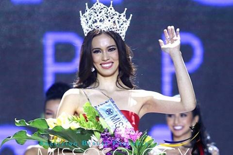 Tan Hoa hau The gioi Philippines kem sac khi dang quang hinh anh