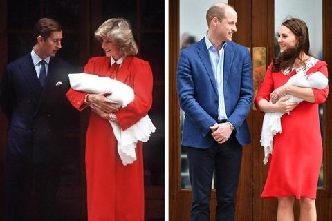 Vay Kate Middleton mac sau khi hoang tu be chao doi co gi dac biet? hinh anh