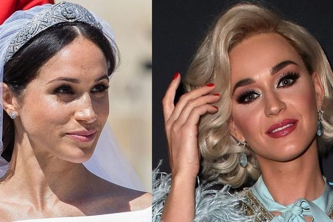 Katy Perry thich vay cuoi cua Kate Middleton hon Meghan Markle hinh anh