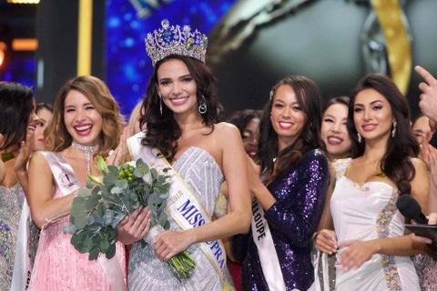6 nu hoang sac dep cua nam 2018: Hoa hau Philippines ruc ro nhat hinh anh 9
