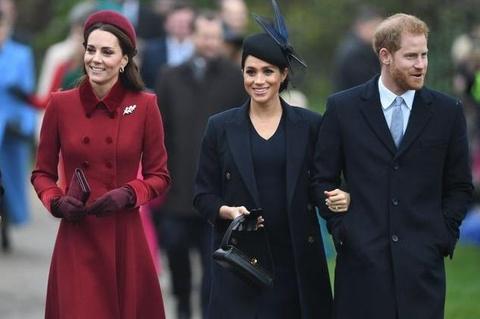 Kate Middleton va Meghan Markle xuat hien rang ro sau tin don bat hoa hinh anh