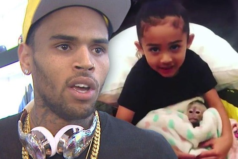 Chris Brown sap phai hau toa vi nuoi khi o nha rieng hinh anh