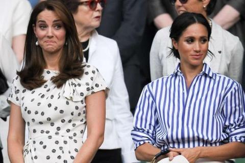 Meghan Markle chi tien sam vay ao gap 6 lan Kate Middleton hinh anh