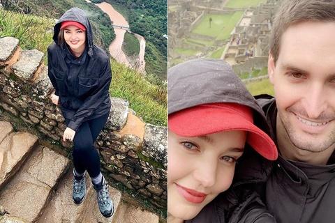 Cựu thiên thần Miranda Kerr khoe ảnh du lịch cùng chồng tỷ phú