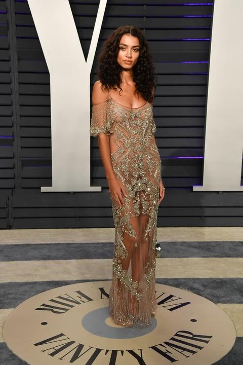 Sofia Vergara mac vay nang nguc tao bao o tiec hau Oscar 2019 hinh anh 4