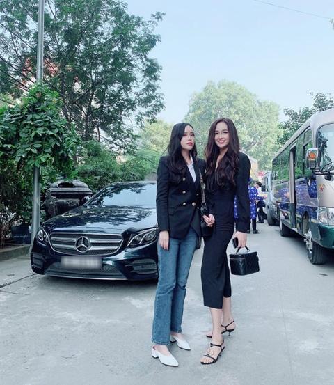 Em gai Mai Phuong Thuy cao 1,78 m, xinh dep va mac sanh dieu hinh anh 2