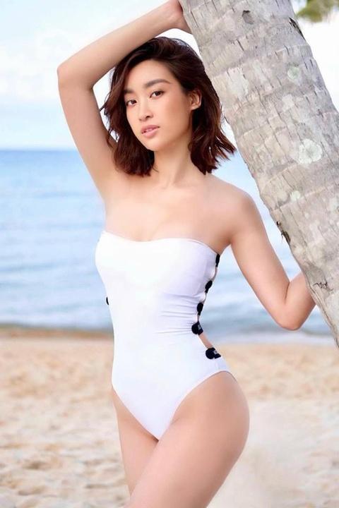 Dien ao tam sexy, Hoa hau Phuong Khanh 'dung hang' Ha Ho, My Linh hinh anh 4