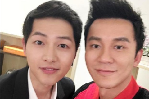 Photo of Li Chen with Song Joong Ki became the focus in breaking up
