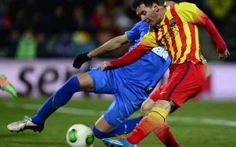 Messi xuat sac nhat tran thang thu 3 cua Barca dau nam 2014 hinh anh