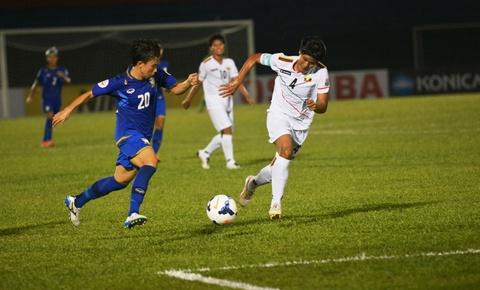 Thai Lan 2-1 Myanmar: VN tranh ve World Cup voi Thai Lan hinh anh