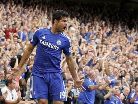Chelsea 4-2 Swansea: Diego Costa lap hat-trick hinh anh