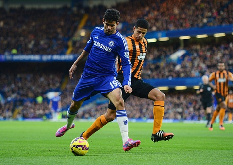 Chelsea 2-0 Hull City: Diego Costa giai con khat ban thang hinh anh