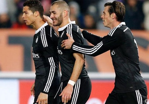 Diem tin: Real Madrid manh nhat the gioi hinh anh