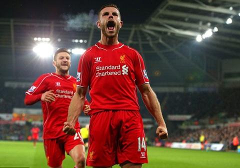 Liverpool ap sat M.U nho pha ghi ban cua Henderson hinh anh