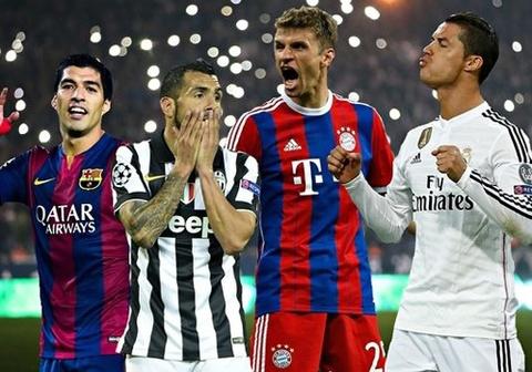 Ban ket Champions League: Barca dung Bayern, Juve gap Real hinh anh