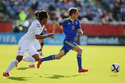 Tong hop tran U20 Myanmar thua 0-6 truoc U20 Ukraina hinh anh