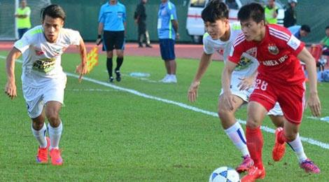Danh bai HAGL 4-1, B.Binh Duong vo dich luot di hinh anh