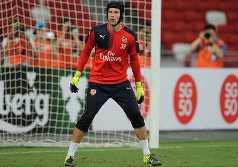 Petr Cech co lien tiep 2 pha can pha an tuong o Arsenal hinh anh