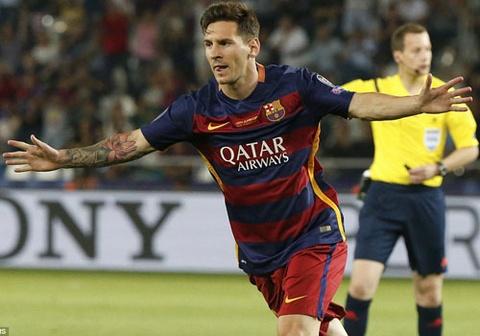 Messi 2 lan sut phat an ban, dua Barca len dinh chau Au hinh anh
